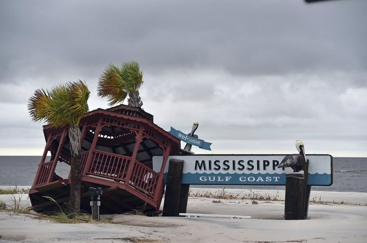 10/08/2017 - A weakened Nate brings flooding, power outages to Gulf Coast