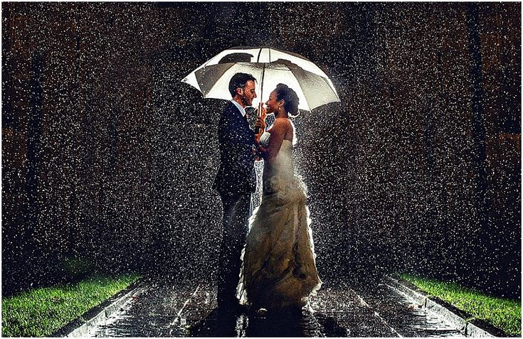 Rain on your wedding day - just beautiful! Miki Photography | What Happens if Your Wedding Planning Goes Wrong? Part 2: Contracts, Cancellations & Wedding insurance - Nu Bride