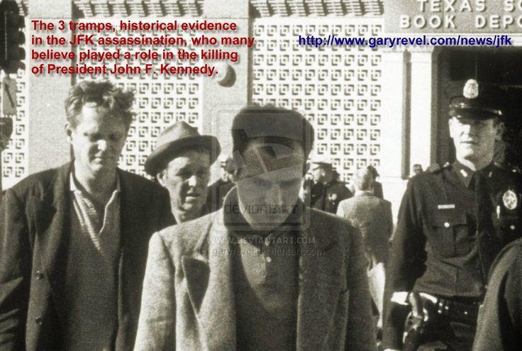 The 3 Tramps: Historical Evidence in JFK Killing by garyrevel.deviantart.com on @deviantART