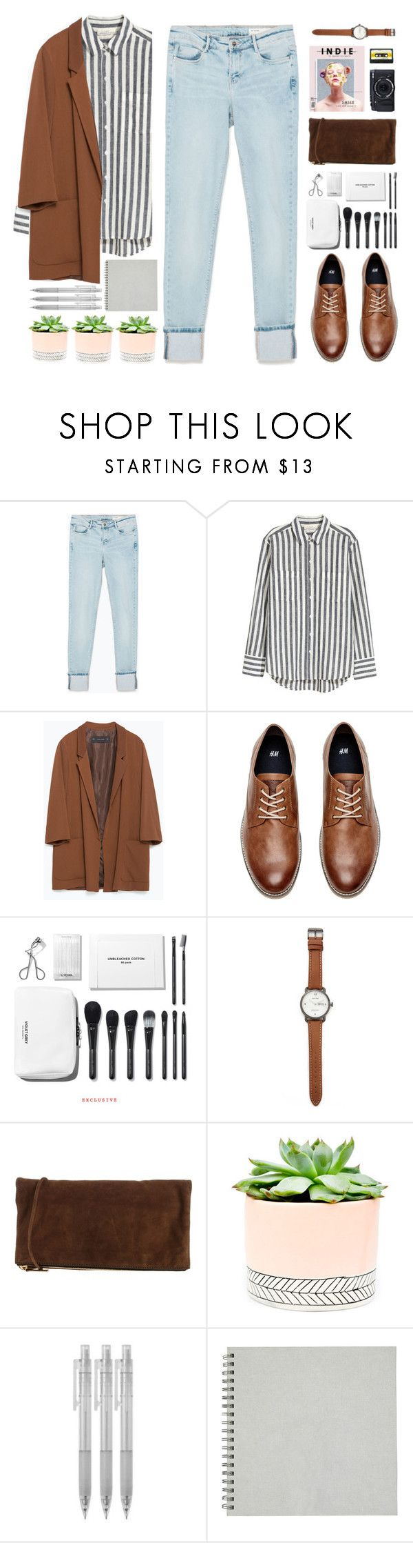"""bittersweet memories"" by la-lunar-eclipse on Polyvore featuring Zara, H&M, Fujifilm, Jack Spade, Dsquared2, Hostess, Muji and vintage"