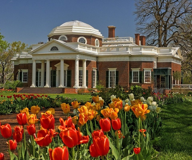 Thomas Jefferson's home, Monticello  So worth the trip if you've never been.