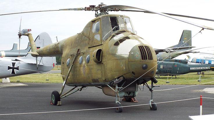 Soviet Mil Mi-4A (Hound) 1953 Luftwaffe Museum Gatow Berlin
