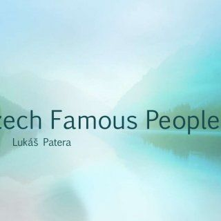 Czech Famous People Lukáš Patera   Roman Šebrle • Roman Šebrle is a former athlete and decathlonist. • He is also an Olympic champion of 2004. • He was th. http://slidehot.com/resources/famous-people-by-lukas-patera.32028/