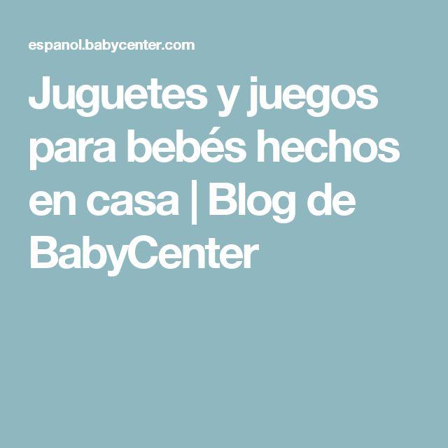 Juguetes y juegos para bebés hechos en casa | Blog de BabyCenter