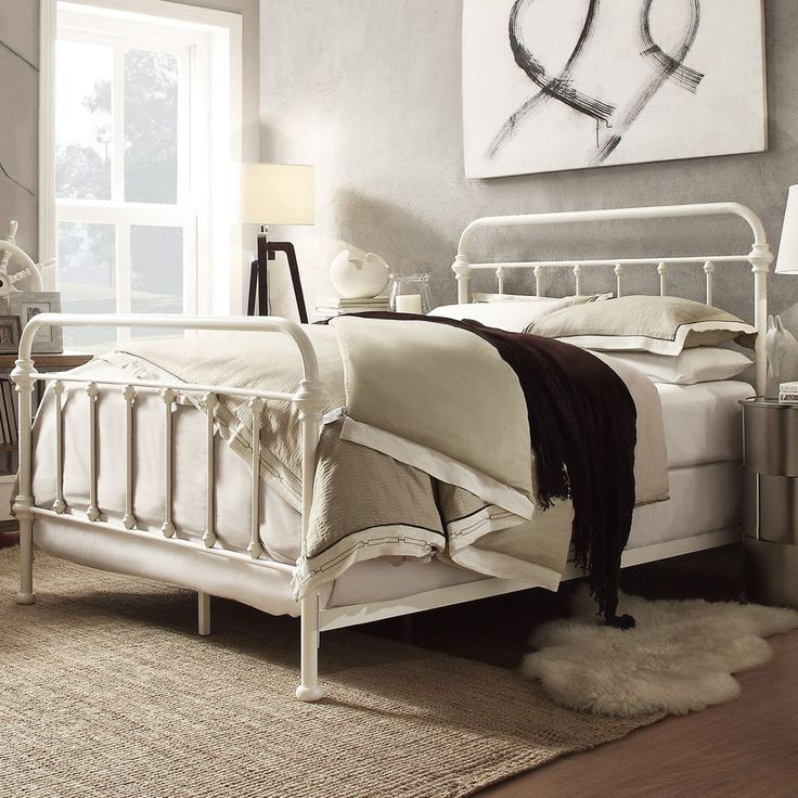 Best 25 Wrought Iron Bed Frames ideas on Pinterest