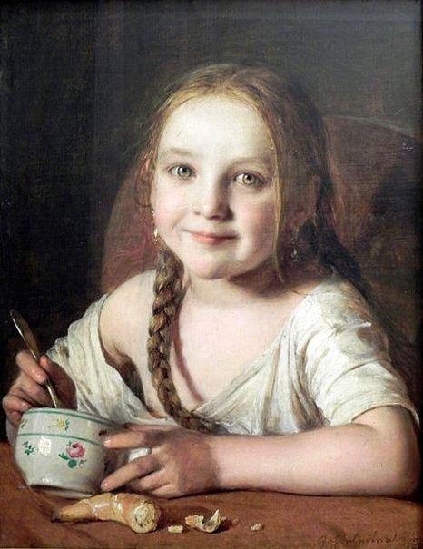 Johann Baptist Reiter (1813 – 1890, Austrian) | I AM A CHILD