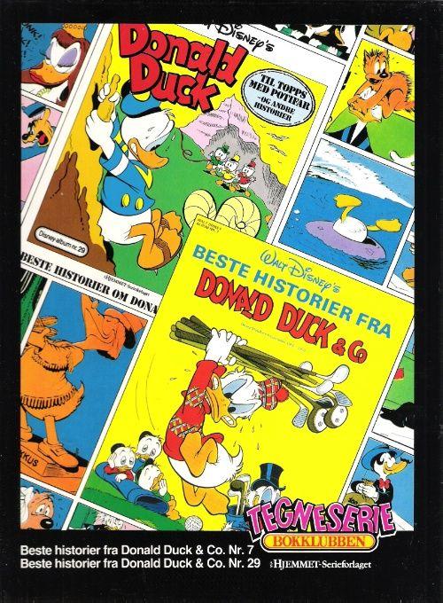 """""""Beste historier fra Donald Duck & Co - Disney-klassikere fra perioden 1952-1959"""" av Disney"""