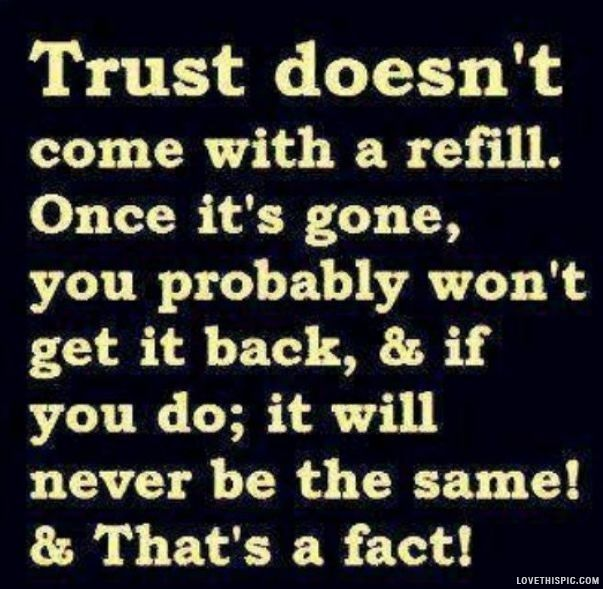Trust quotes trust gone life quote life quotes - The future of your health is in your hands - choose wisely ...