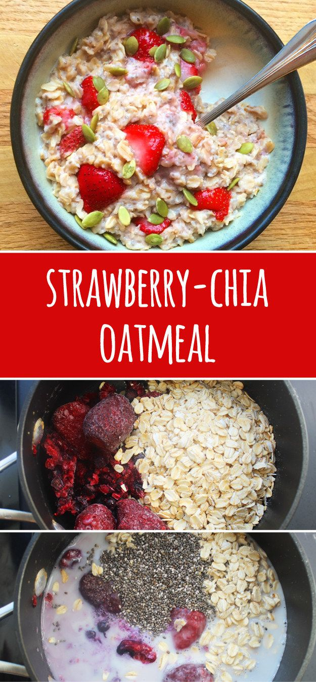 Use frozen berries when fresh ones are out of season. | 13 Genius Ways To Make Oatmeal Extra Delicious