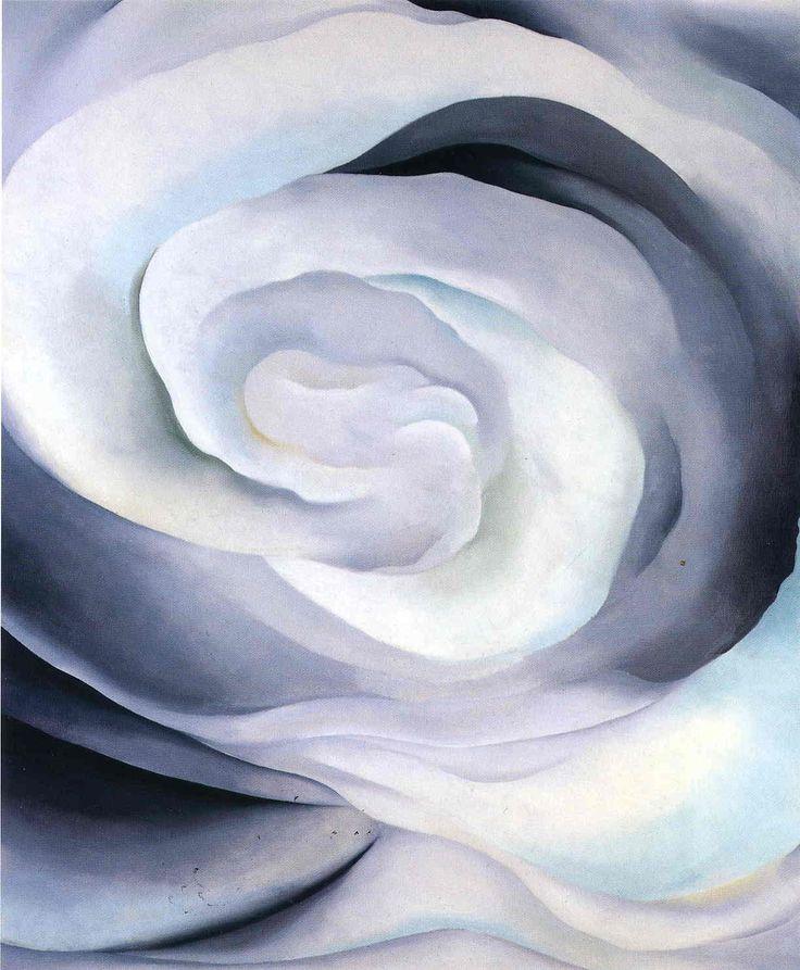 White Rose by Georgia O'Keeffe