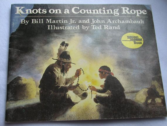 NATIVE AMERICAN Vintage Children's Book Knots by HeritageAndHeart, $5.00