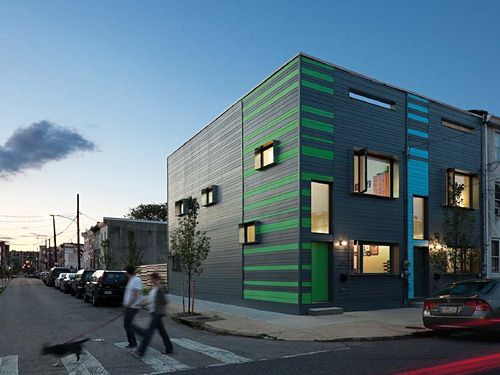 The Pair Of Rowhouses Known As Passive Project, Was The Second Realization  Of Interface Studio Architectsu0027s House Design For Postgreen.