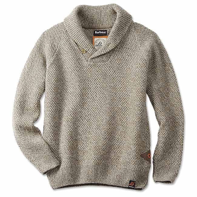 Just found this Barbour Mens Shawl-Collar Sweater - Barbour%26%23174%3b Bransfield Shawl-Collar Sweater -- Orvis on Orvis.com!