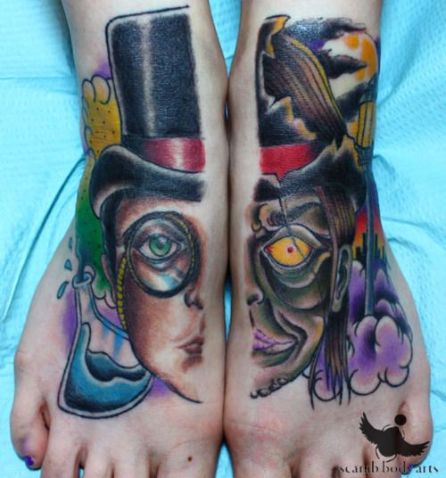 Dr Jekyll and My Hyde... would be awesome if I didn't already have tattoos on my feet