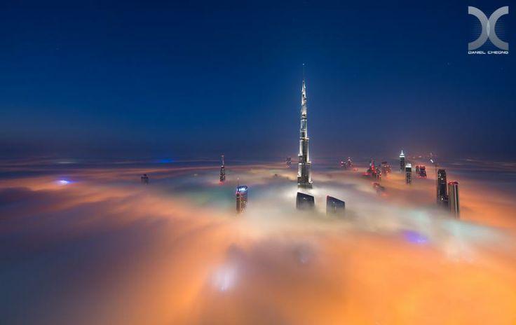 Ceaţă în Dubai