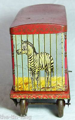 "Crawfords biscuit tin ""Menagerie Van"" c1930"