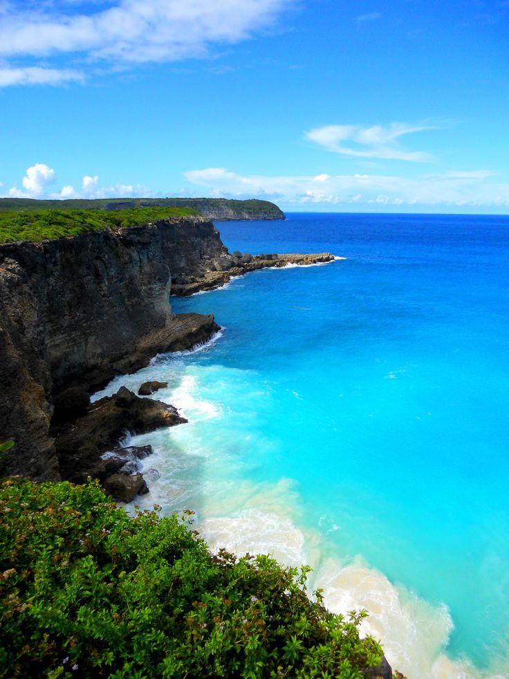 Pointe de la Grande Vigie.  Anse-Bertrand.  Guadeloupe.