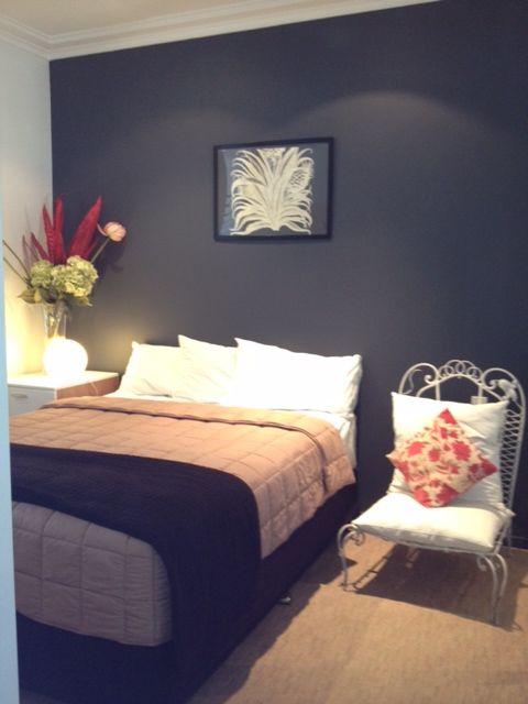 Sydney apartment dulux ticking juliet steel designs for Dulux boys bedroom ideas