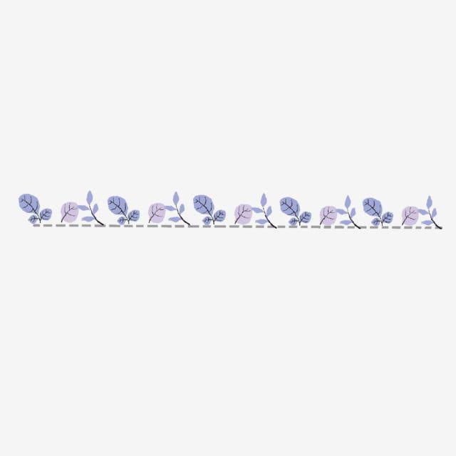 Purple Flower Dividing Line Purple Flowers Dividing Lines Png Transparent Clipart Image And Psd File For Free Download Purple Flowers Cartoon Flowers Clipart Images