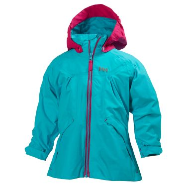 K SAGA JACKET This girls´ jacket features great colors, Helly Tech® construction, and full protection from the elements.