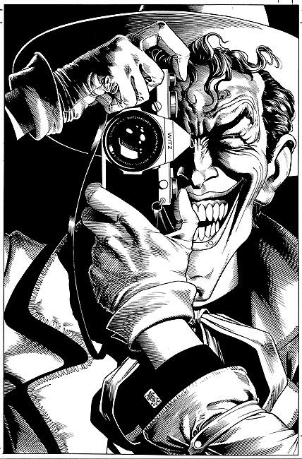 Batman: The Killing Joke, 1988 illustrated by Brian Bolland