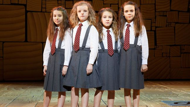 'Matilda' Quartet Scoops Early Tony Honors