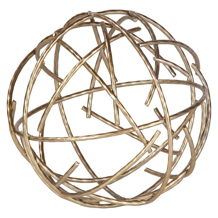 Decorative Accent Piece Figurine - Gold : Target: