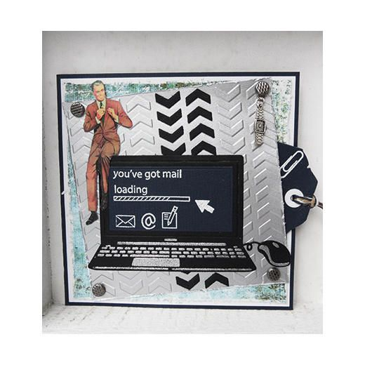 Marianne Design Collectables Cutting Dies & Clear Stamps - Laptop COL1372 < Craft Shop | Cuddly Buddly Crafts