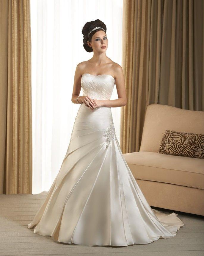 96 best Wedding Dress images on Pinterest | Wedding frocks, Short ...