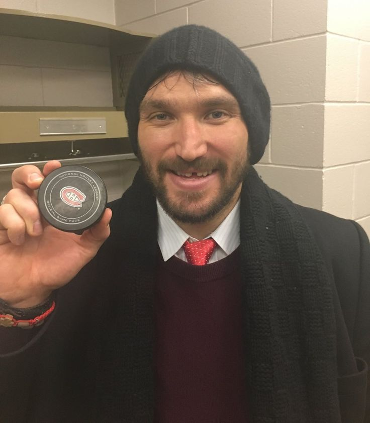 """There's something about Montreal that brings the best out of Alex Ovechkin. Monday night, Ovechkin had another big night at Bell Center, tallying three points and bringing his career point total to 999. Ovechkin also scored his 544th career goal, tying Maurice Richard for 29th all time. After the game, Ovechkin posed with the milestone puck. Photo: @Capitals """"Obviously, it's a history place and it's nice to be involved in the history and tie him,"""" Ovechkin said to Mike Vogel about th..."""