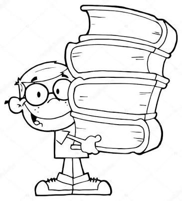Resultado de imagen para dibujos de libros animados
