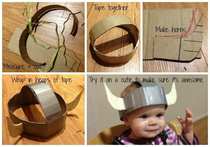Where's My Glow? : How to make a kids viking costume on a budget