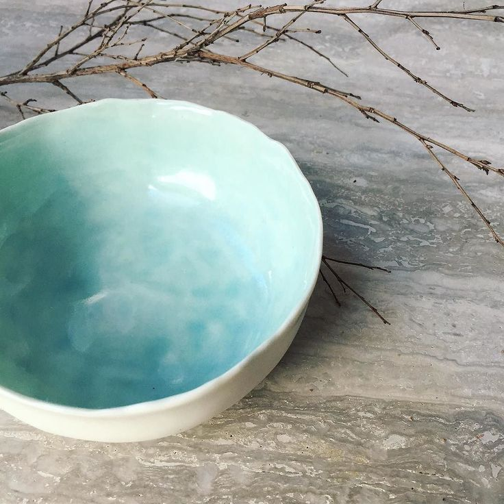 A favourite colour of mine #handpainted #turquoise #ceramics