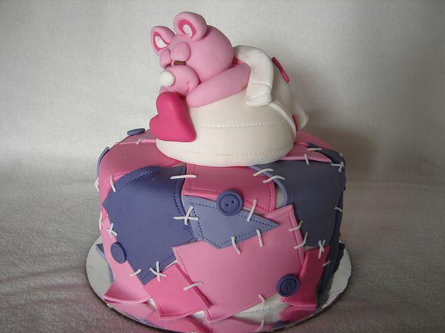 Patchwork cake by MyCakes.com.au, via Flickr