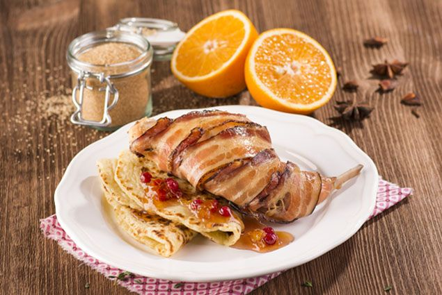 Konfitovaný králík s pomerančovým chutney #jaknavelkeveci#food#recipe#foodporn#yum#yummy#cooking#inspiration#meat#meal