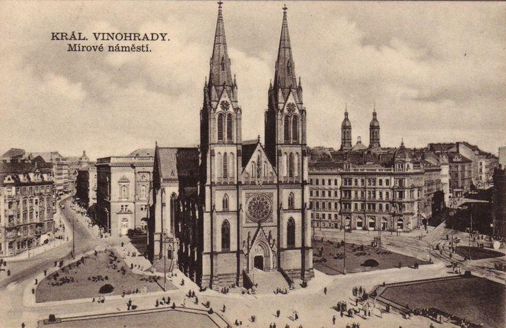 Naproti ústí Moravské ulice do Sázavské na Vinohradech stávala největší pražská synagoga. ČÍST CELÝ PŘÍSPĚVEK