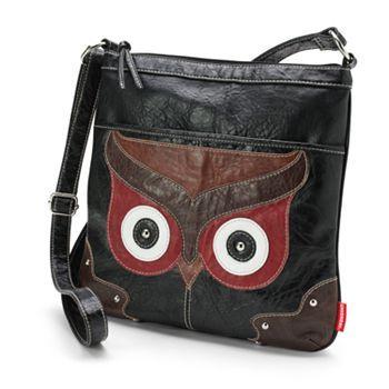 Unionbay Owl Crossbody Bag Pinned by www.myowlbarn.com