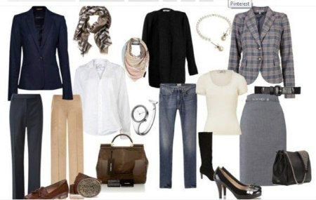 Capsule Wardrobe Smart Casual Clothes For Classic Style Personality Wardrobe Capsule Ideas