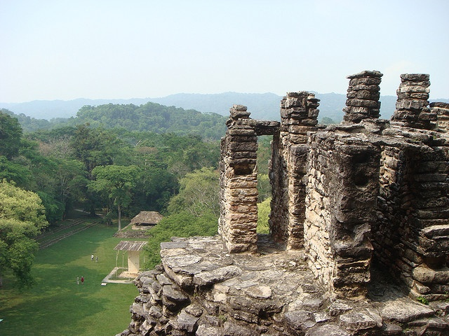 view from the top of edificio 33 at Yaxchilan by Mercy & Canuche, via Flickr