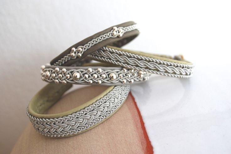 Lappland bracelets, Samiarmbänder by www.passionforsapmi.de