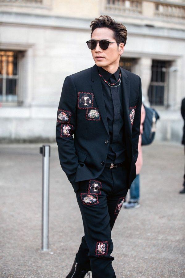 (画像4/9) 登坂広臣/「ディオールオム(Dior Homme)」2017-18秋冬コレクション(写真:Getty Images) - 三代目JSB登坂広臣&今市隆二&NAOTO、パリ開催の「ディオールオム」コレクションに集結