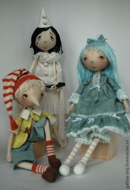 Коллекционные куклы ручной работы. Ярмарка Мастеров - ручная работа Буратино и компания. Handmade.