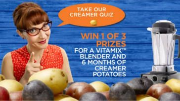 WIN a Vitamix Blender & 6 Months of FREE Creamer Potatoes! on http://www.canadafreebies.ca/