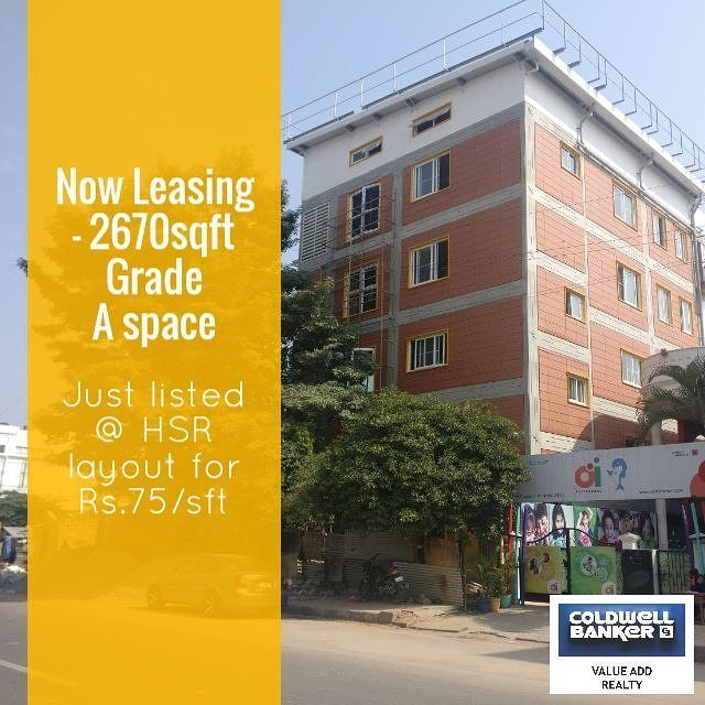 Looking for commercial grand A space for lease/ rent in HSR layout bangalore.  Contact: Mithlesh Mobile: 7899586003  #bangalore #bengaluru #hsrlayout #commercialspaceforlease #forrent #premium #luxuryhomes #realestate #realestatesales #realestateagent #realestatebroker - posted by Coldwell Banker https://www.instagram.com/cbvalueaddrealty - See more Luxury Real Estate photos from Local Realtors at https://LocalRealtors.com/stream