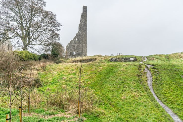 THE YELLOW STEEPLE IN TRIM COUNTY MEATH