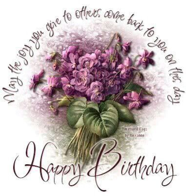 Dear Marjie, Hope you have a wonderful  Birthday& year ahead!! I so enjoy pinning with you on Home Style!!