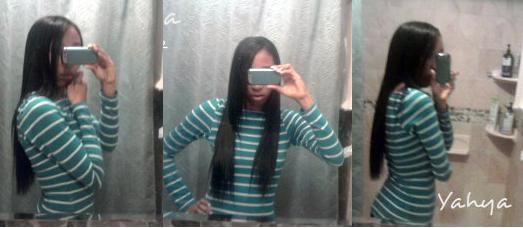 Relaxed Hair Health: Feature: How she got 2 inches of growth in a month & created the perfect moisture/protein balance.