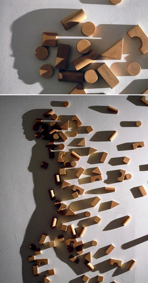 Amazing Art by Shadow. Artist Kumi Yamashita