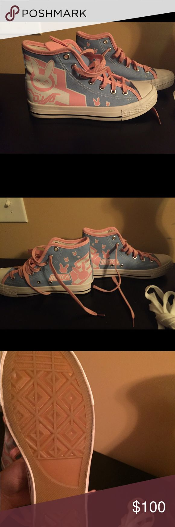 D.va Overwatch Shoes Brand new Excellent condition  Never been worn because bought too small Overseas online only product Price Negotiable Shoes Sneakers
