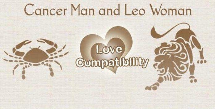 Leo dating cancer man